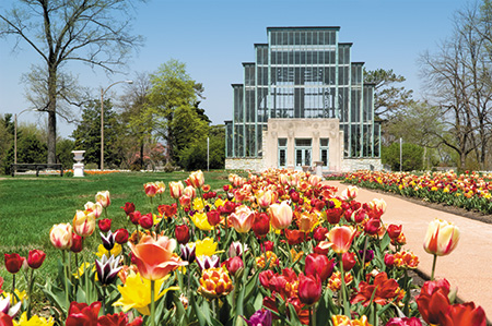The Jewel Box in Forest Park
